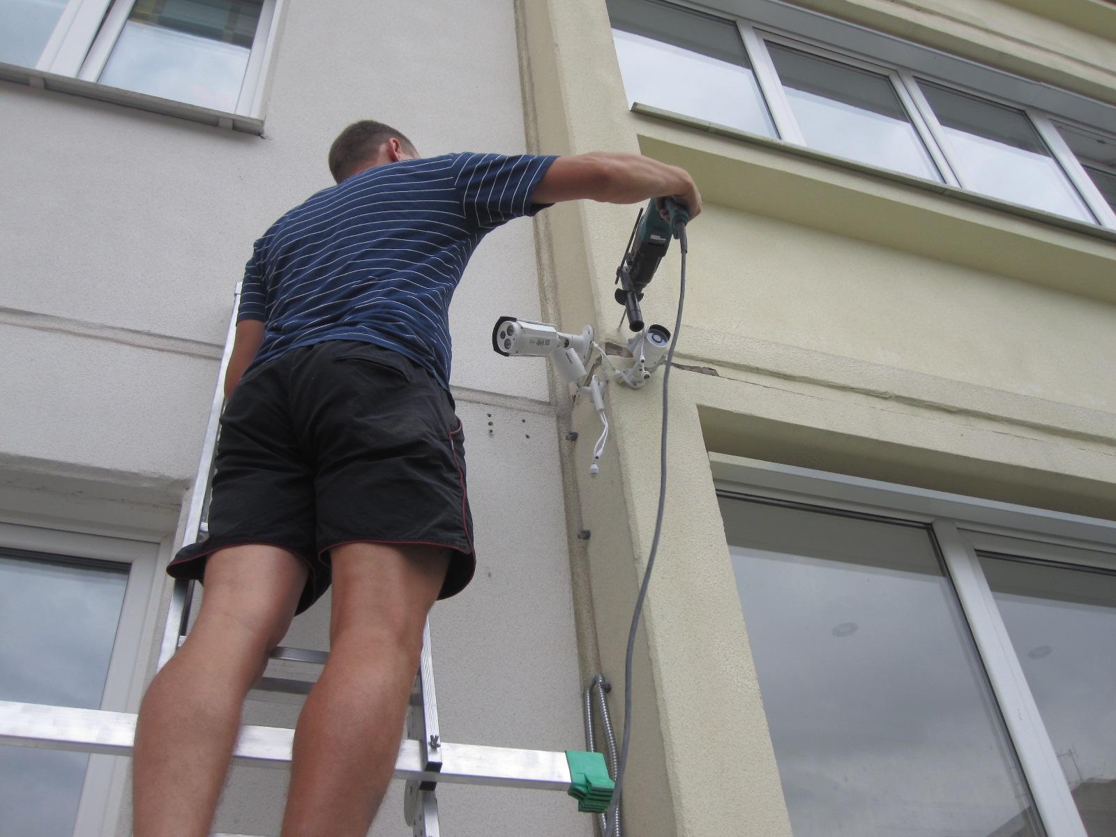 незаконная установка камер видеонаблюдения в многоквартирном доме