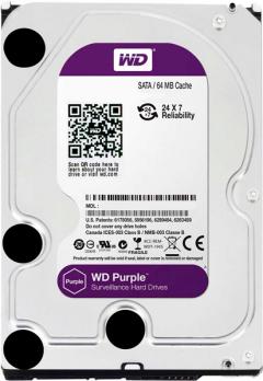 Жесткий диск на 2 Тб WD Purple