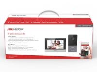 Комплект ip-видеодомофона Hikvision DS-KIS603-P