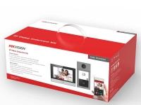 Комплект ip-видеодомофона Hikvision DS-KIS604-P(B)